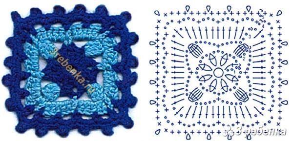 Схема вязания крючком 53