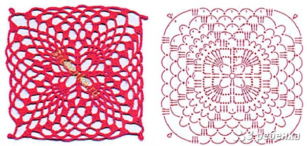 Схема вязания крючком 56