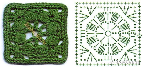 Схема вязания крючком 65
