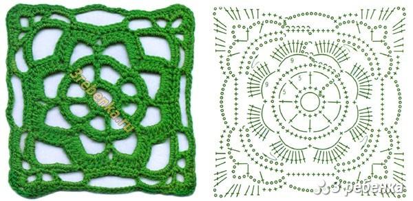 Схема вязания крючком 78