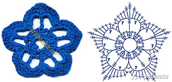 Схема вязания крючком 83