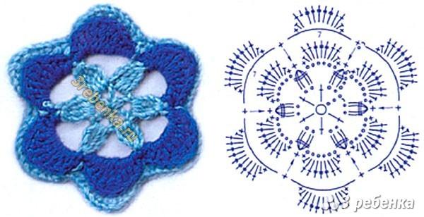 Схема вязания крючком 89