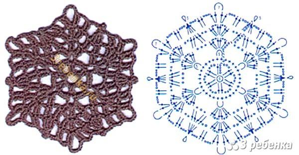 Схема вязания крючком 116