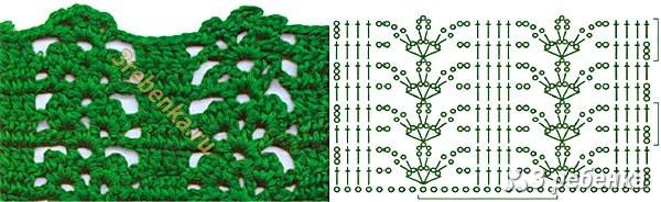 Схема вязания крючком 159