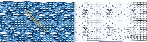 Схема вязания крючком 168