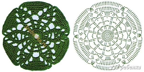 Схема вязания крючком 190