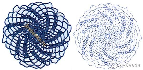 Схема вязания крючком 204