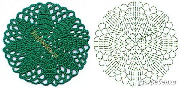 Схема вязания крючком 213