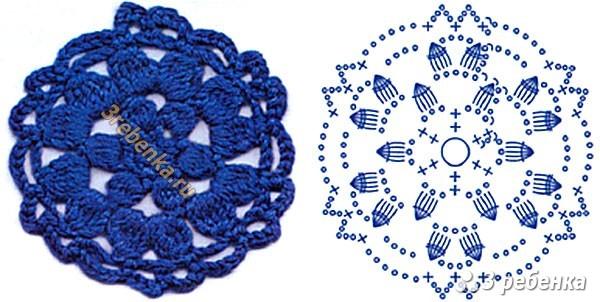Схема вязания крючком 215