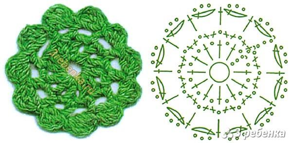 Схема вязания крючком 232