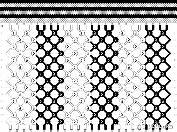 Схема фенечки 24301