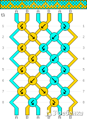 Схема фенечки 24629