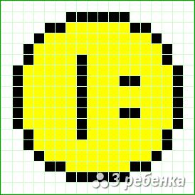 Схема фенечки прямым плетением 24162