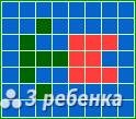 Схема фенечки прямым плетением 24152