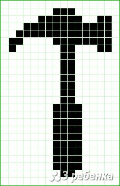 Схема фенечки прямым плетением 24182