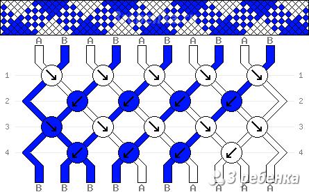 Схема фенечки 25394
