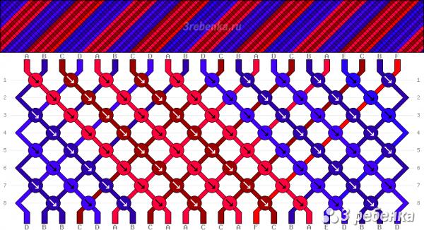 Схема фенечки 26086