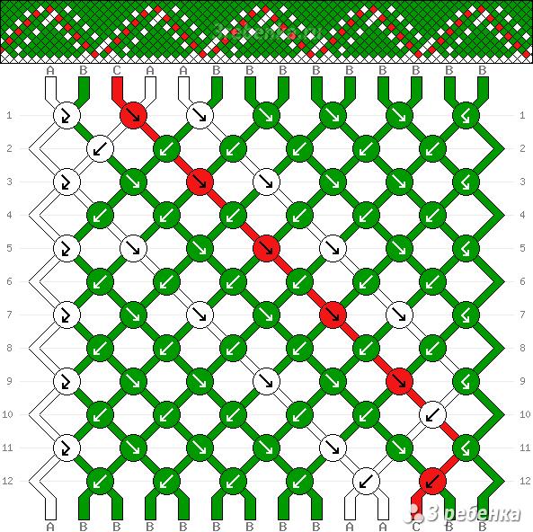 Схема фенечки 26132