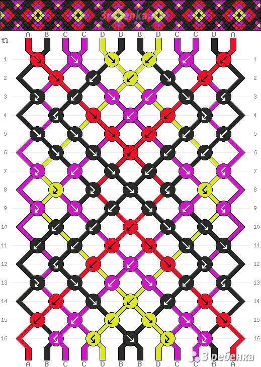 Схема фенечки 26260