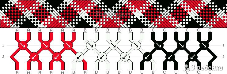 Схема фенечки 29063