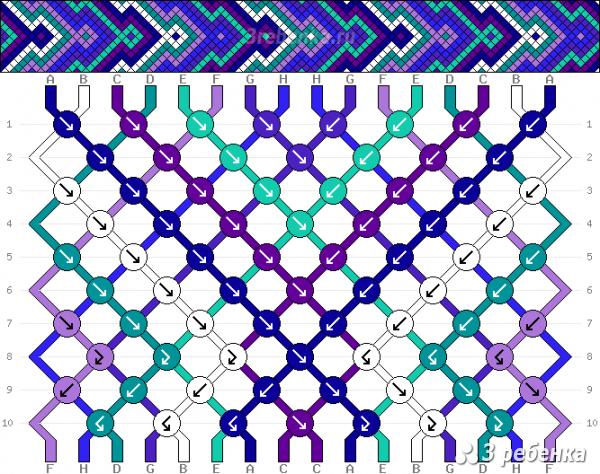 Схема фенечки 29075