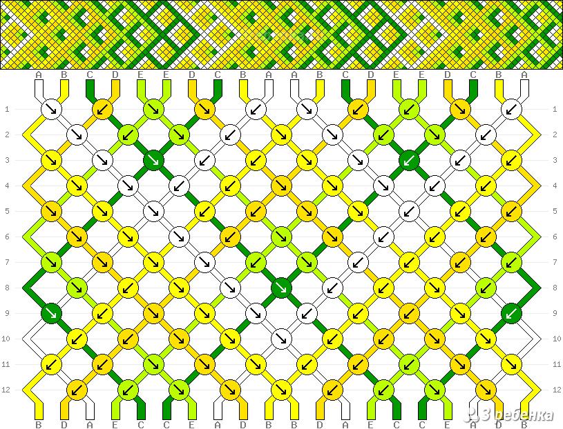 Схема фенечки 29107