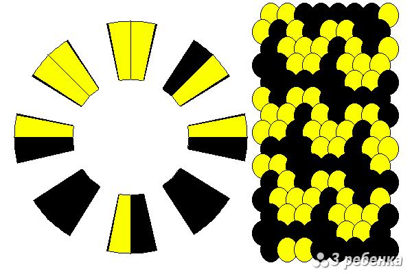 Схема фенечки кумихимо 27600