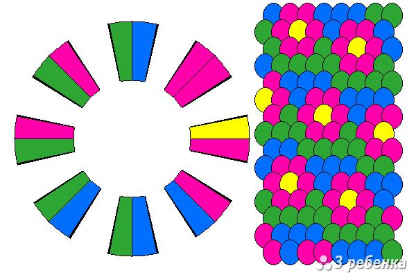 Схема фенечки кумихимо 27426