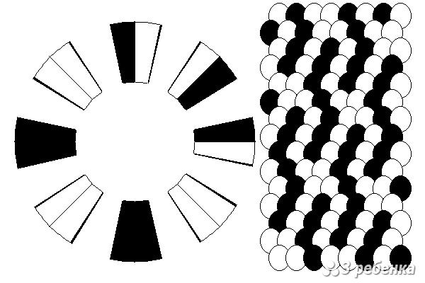 Схема фенечки кумихимо 27393