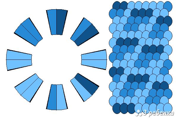 Схема фенечки кумихимо 27132