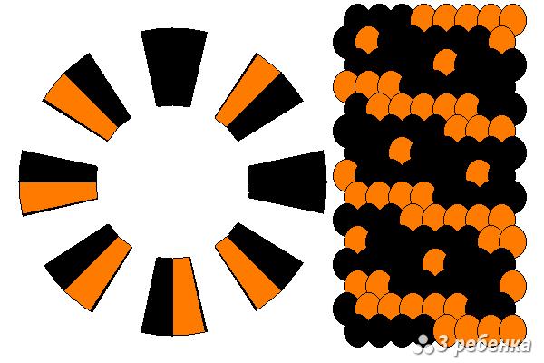 Схема фенечки кумихимо 27661
