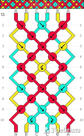 Схема фенечки 29452