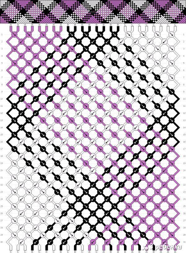 Схема фенечки 29463