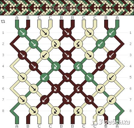 Схема фенечки 29532