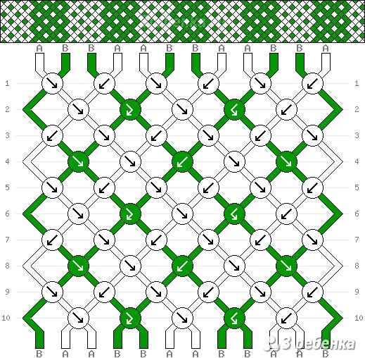 Схема фенечки 29663