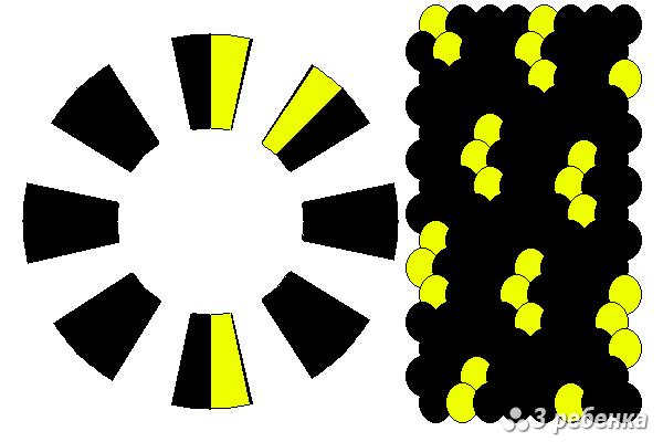 Схема фенечки кумихимо 27828