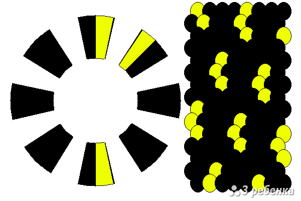 Схема фенечки кумихимо 27862