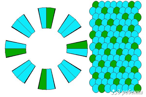 Схема фенечки кумихимо 27616