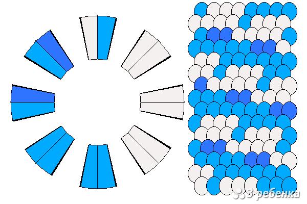 Схема фенечки кумихимо 27820