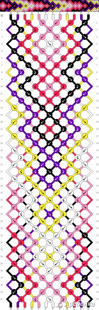 Схема фенечки 30040