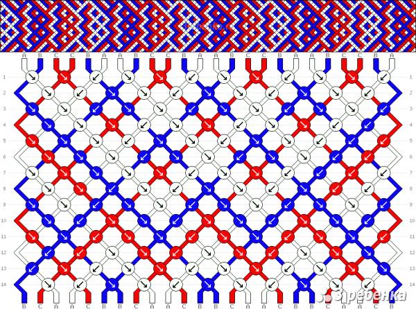Схема фенечки 30078