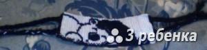 Схема фенечки прямым плетением 28950