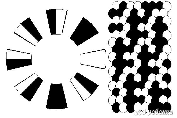Схема фенечки кумихимо 29785