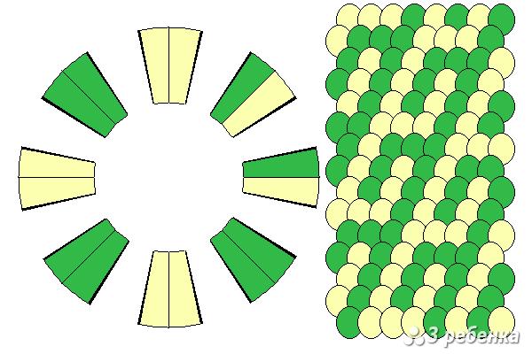 Схема фенечки кумихимо 29777