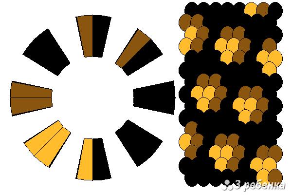 Схема фенечки кумихимо 29768
