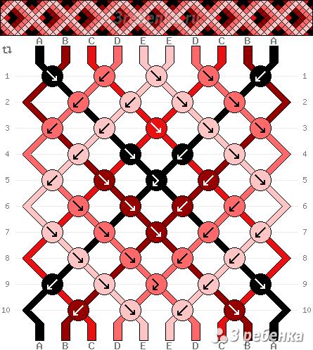 Схема фенечки 31949