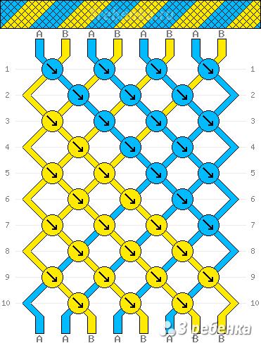 Схема фенечки 32081