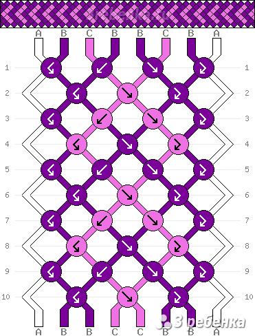 Схема фенечки 32219