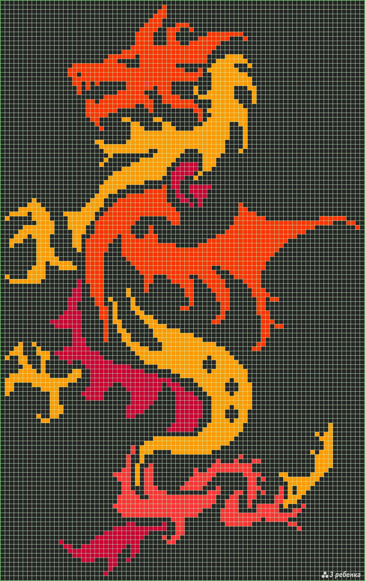 Фенечки схемы прямого плетения покемоны