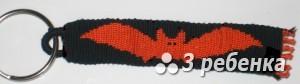 Схема фенечки прямым плетением 31404